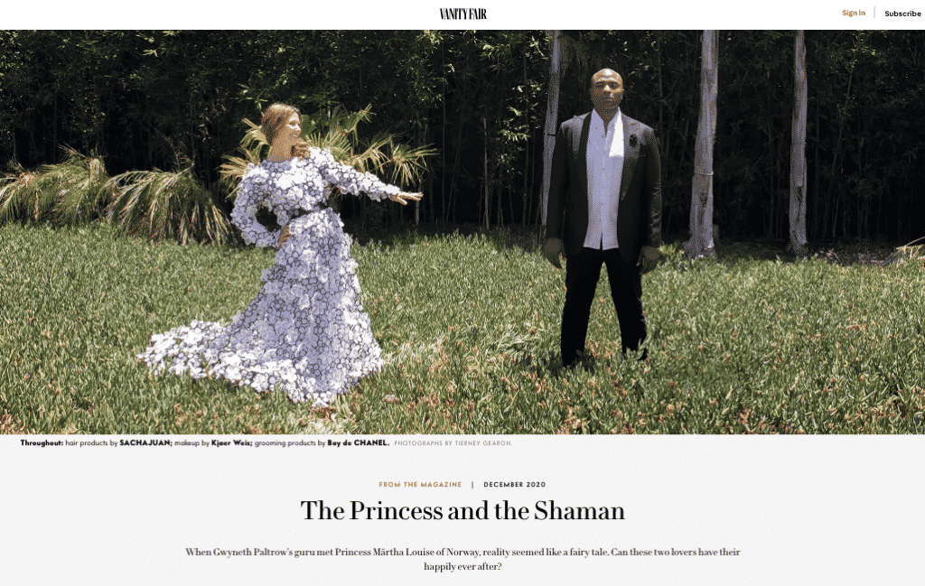 The Princess and the Shaman