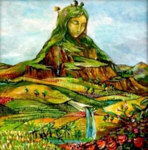 A depiction of Pachamama, artist unknown